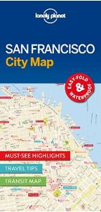 Picture of Lonely Planet San Francisco City Map