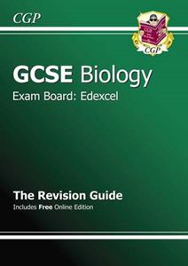 Picture of GCSE Biology Edexcel Revision Guide (with Online Edition) (A*-G Course)