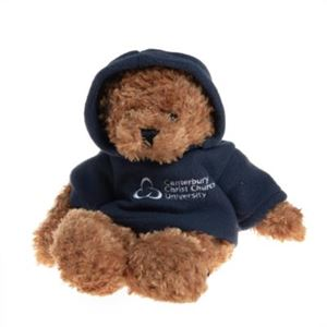 Picture of CCCU Toffee Bear with Navy Hoody