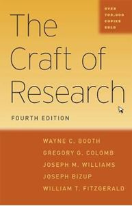 Picture of Craft of Research 4ed