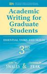 Picture of Academic Writing for Graduate Students: Essential Tasks and Skills