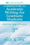 Picture of Commentary for Academic Writing for Graduate Students: Essential Tasks and Skills, Teacher's Notes and Key