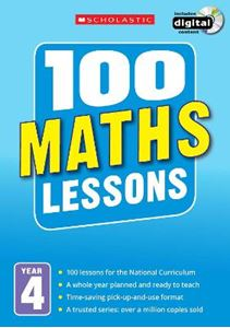 Picture of 100 Maths Lessons: Year 4: Year 4