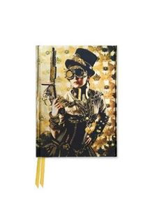 Picture of Steampunk Lady (Foiled Pocket Journal)