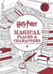 Picture of Harry Potter Magical Places & Characters Postcard Colouring Book: 20 Postcards to Colour