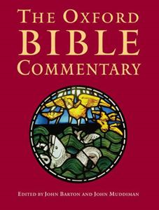 Picture of Oxford Bible Commentary