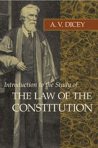 Picture of Introduction to the Study of the Law of the Constitution