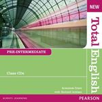 Picture of New Total English Pre-Intermediate Class Audio CD