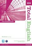 Picture of New Total English Pre-Intermediate Workbook with Key and Audio CD Pack