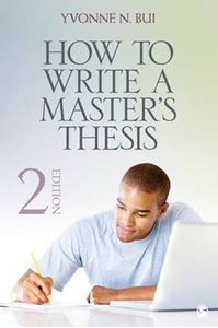 Picture of How to Write a Master's Thesis 2ed