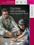 Picture of EFA Global Monitoring Report 2013/2014: Teaching and Learning: Achieving Equality for All