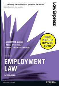 Picture of Law Express: Employment Law (Revision Guide) 5ed