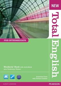 Picture of New Total English Pre-Intermediate Students' Book with Active Book Pack
