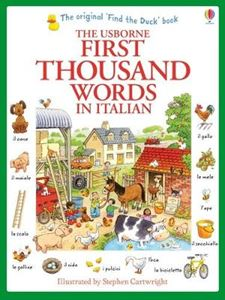 Picture of First Thousand Words in Italian