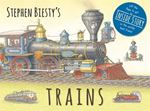 Picture of Stephen Biesty's Trains: Cased Board Book with Flaps