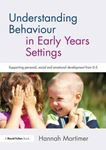 Picture of Understanding Behaviour in Early Years Settings: Supporting Personal, Social and Emotional Development from 0-5