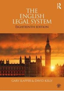 Picture of English Legal System 2017-2018 18ed