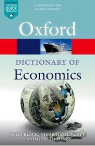 Picture of Dictionary of Economics