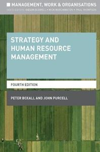 Picture of Strategy and Human Resource Management 3ed