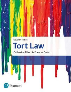 Picture of Tort Law 11ed