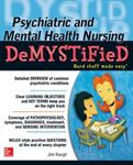 Picture of Psychiatric and Mental Health Nursing Demystified