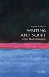 Picture of Writing and Script: A Very Short Introduction