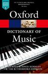 Picture of Oxford Dictionary of Music 6ed