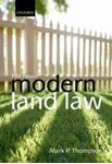 Picture of Modern Land Law 5ed
