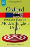 Picture of Fowler's Concise Dictionary of Modern English Usage 3ed