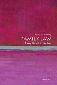 Picture of Family Law: A Very Short Introduction