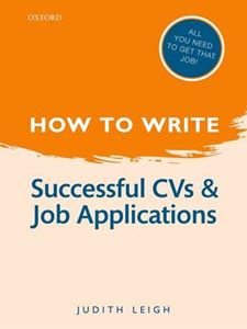 Picture of How to Write: Successful CVs and Job Applications