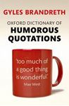 Picture of Oxford Dictionary of Humorous Quotations 5ed