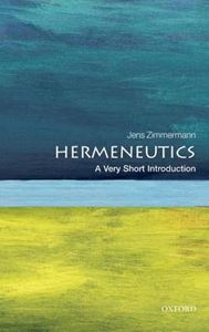 Picture of Hermeneutics: A Very Short Introduction
