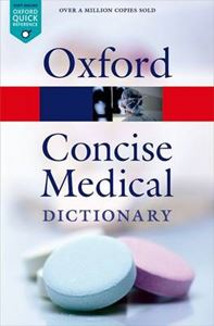 Picture of Oxford Concise Medical Dictionary 9ed