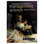 Picture of Practical Introduction to Managment Science 2ed