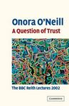 Picture of Question of Trust: The BBC Reith Lectures 2002