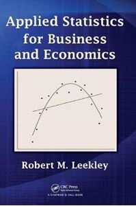 Picture of Applied Statistics for Business and Economics
