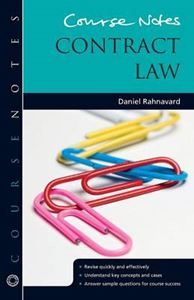 Picture of Course Notes: Contract Law