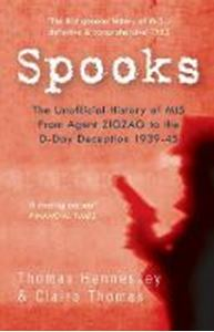 Picture of Spooks the Unofficial History of MI5: From Agent Zig Zag to the D-Day