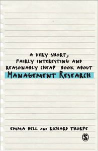 Picture of Very Short, Fairly Interesting and Reasonably Cheap Book About Management Research