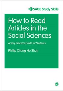 Picture of How to Read Journal Articles in the Social Sciences