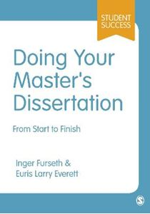 Picture of Doing Your Masters Dissertation: From Start to Finish