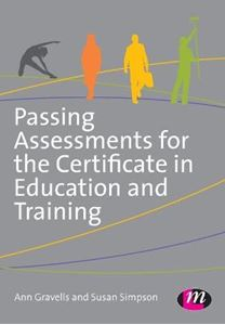 Picture of Passing Assessments for the Certificate in Education and Training