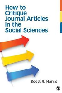 Picture of How to Critique Journal Articles in the Social Sciences
