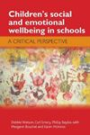 Picture of Children's Social and Emotional Wellbeing in Schools