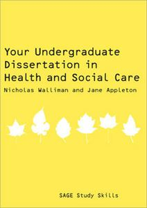 Picture of Your Undergraduate Dissertation in Health and Social Care