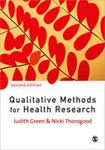 Picture of Qualitative Methods For Health Rese