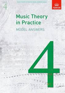 Picture of Music theory in practice model answers Grade 4