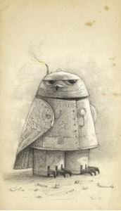 Picture of Shaun Tan Notebook - Snow Owl