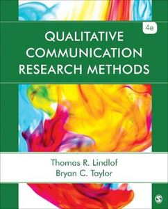 Picture of Qualitative Communication Research Methods 4ed